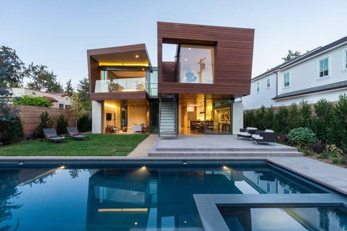 La maison de split en Californie