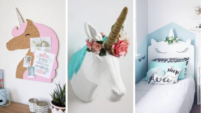 Decorer Une Chambre Sur Le Theme Des Licornes